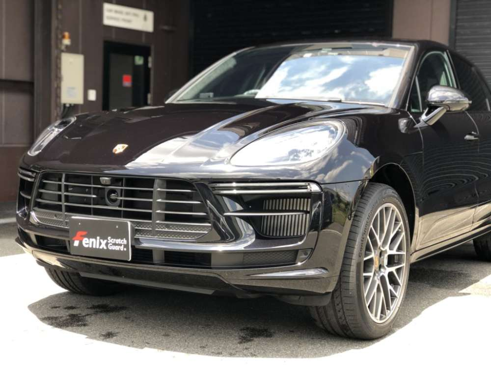 Porsche Macan Fenix Scratch Guard Paint protectionfilm