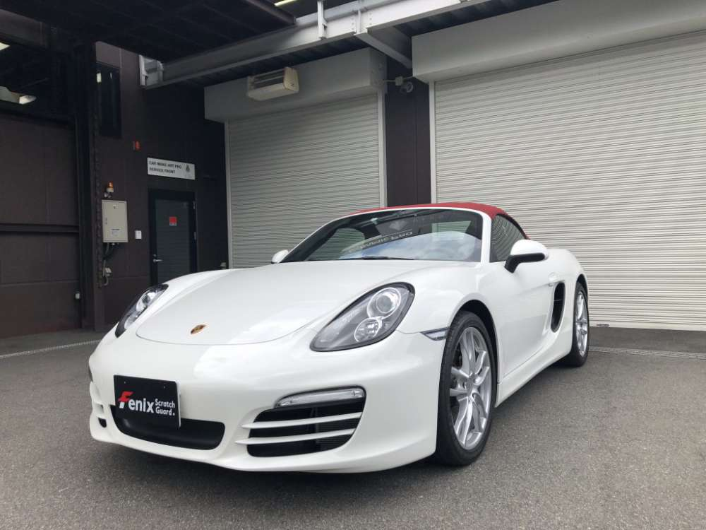 Porsche Boxster Fenix Scratch Guard Paint protectionfilm