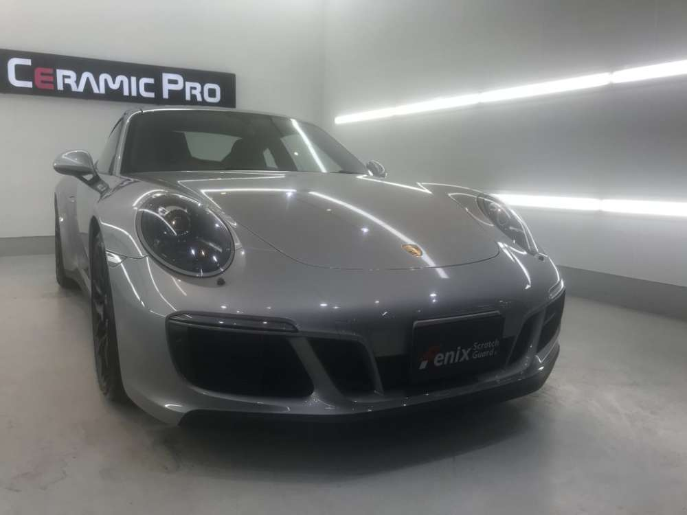 Porsche GTS Fenix Scratch Guard Paint protectionfilm