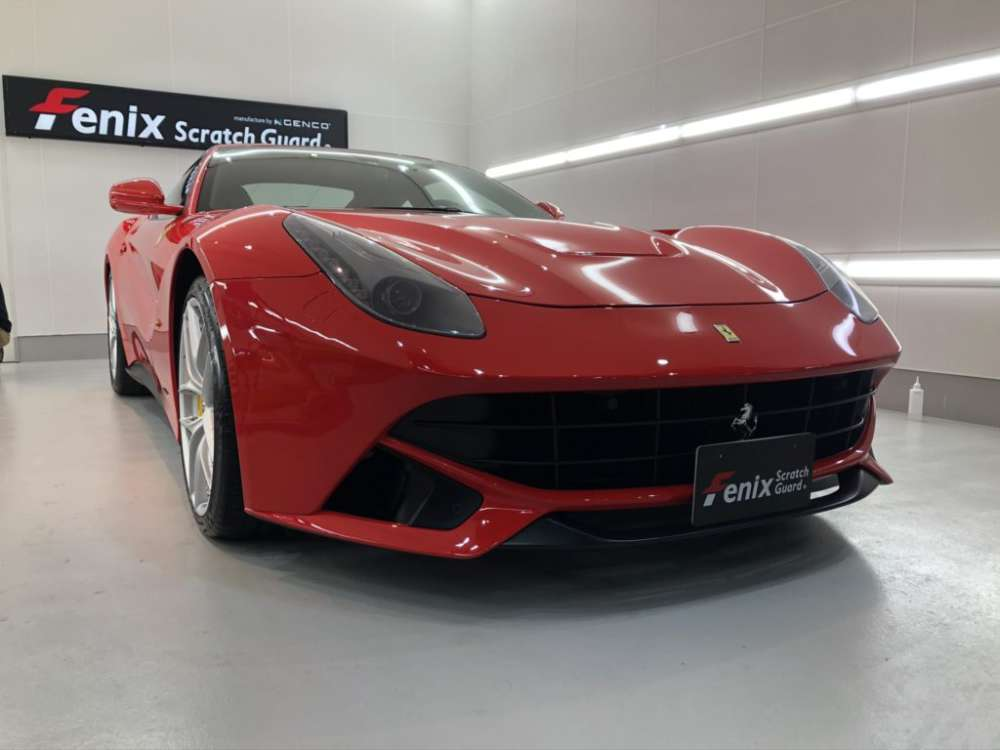 ferrari F12 Fenix Scratch Guard Paint protectionfilm