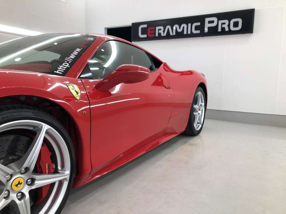Ferrari 458 Scuderia Fenix Scratch Guard Paint protectionfilm