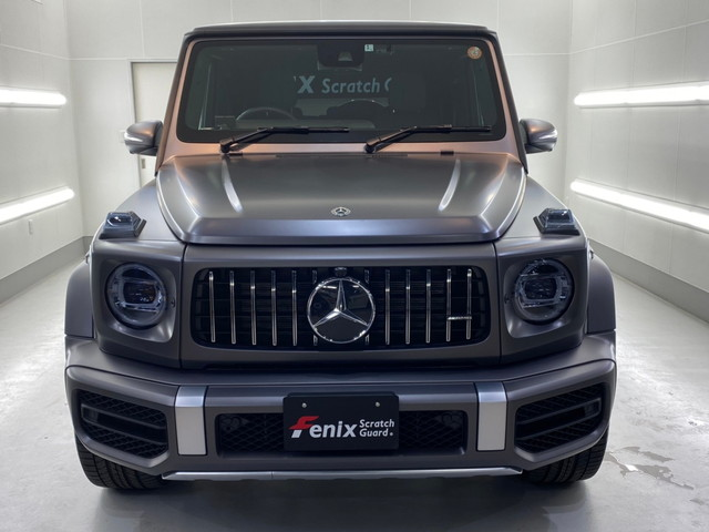 Mercedes Benz AMG G63 Fenix Scratch Guard Paint protectionfilm